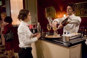 Actors acting like actors acting like waiters