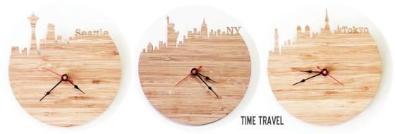 iluxo City Clocks
