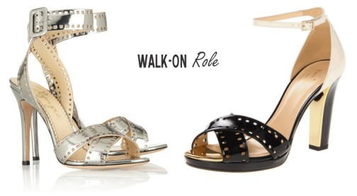 Charlotte Olympia Take 110 sandals vs. Kate Spade Fresia sandals