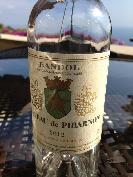Bandol Chateau de Pibaron Rosé... so delicious!