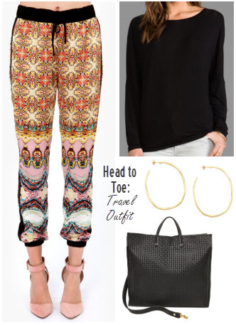 Head to Toe Travel Outfit