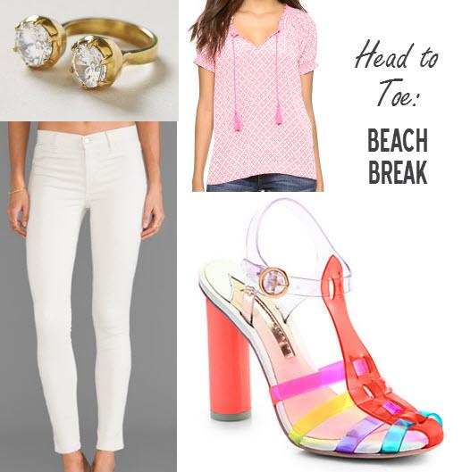 Head to Toe Beach Break